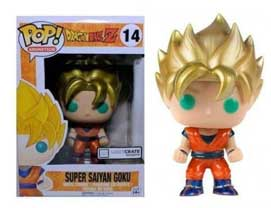 14 Super Saiyan Goku Metallic
