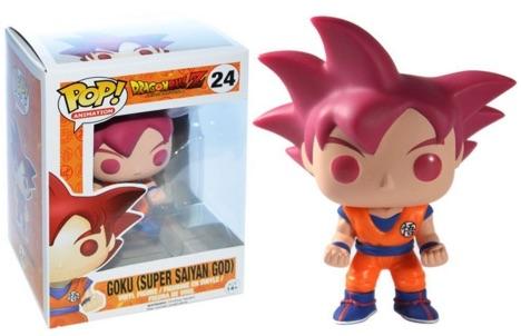 24 Goku Super Saiyan God
