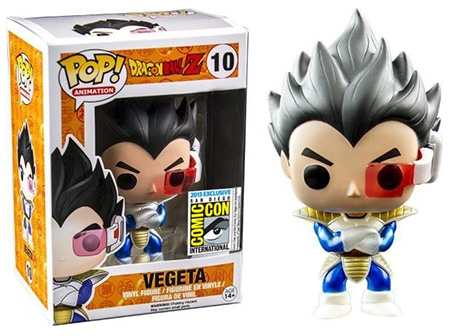 10 Chrome Metallic Vegeta