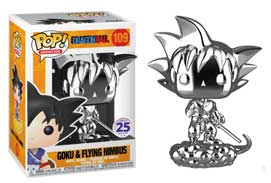 Goku & Flying Nimbus Chrome #109