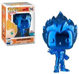 Super Saiyan Vegeta cromo  blu #154