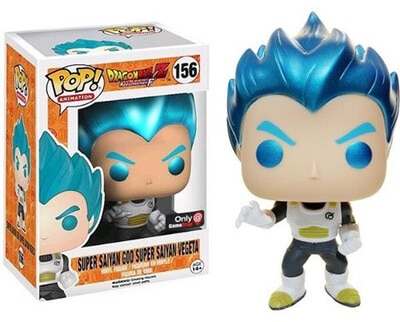 Super Saiyan God Super Saiyan Vegeta Metallic #156