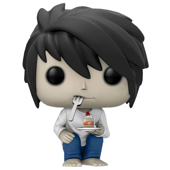 L with cake (Death Note) #219