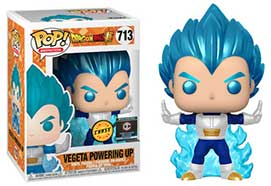 Vegeta (Powering Up) Metallic Chase #713