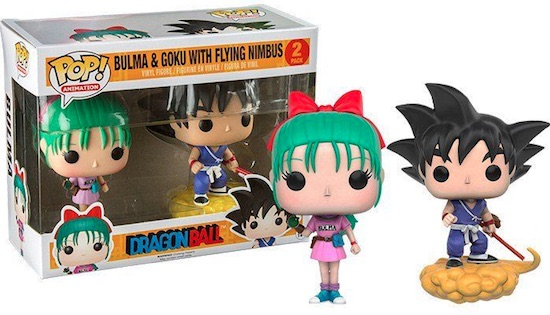 Bulma and Goku w/ Flying Nimbus