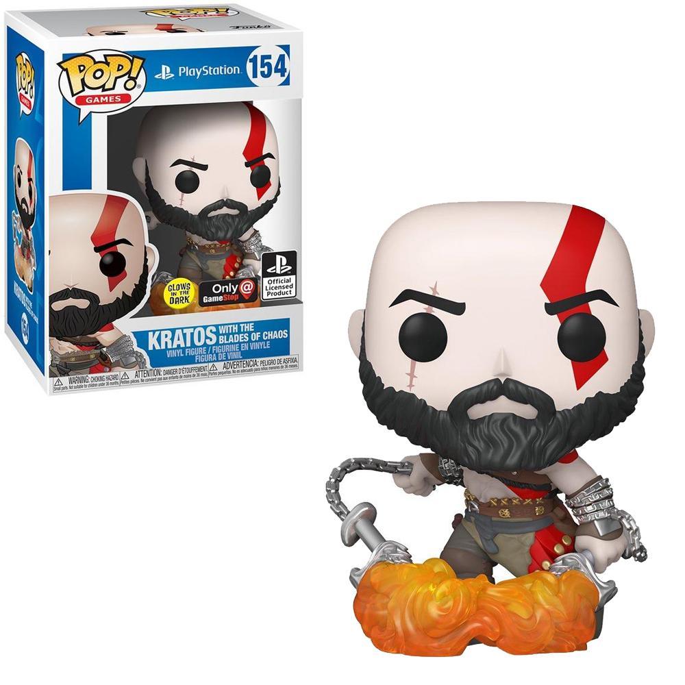 Kratos Blades of Chaos GITD #154