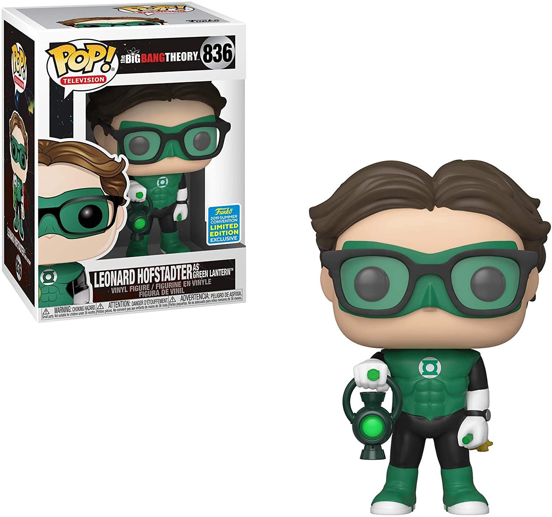 Leonard Hofstadter Green Lantern #836