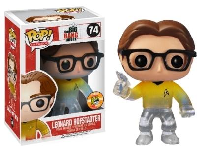 Leonard Hofstadter Star Trek Transporting #74