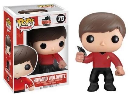 Howard Wolowitz Star Trek #75