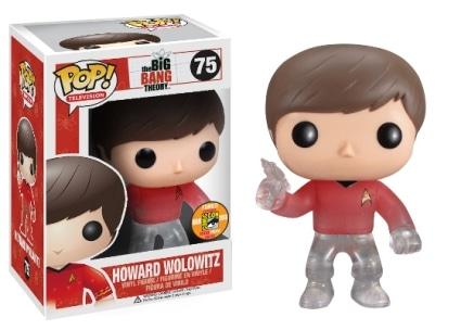 Howard Wolowitz Star Trek Transporting #75
