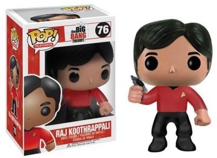 Raj Koothrappali Star Trek #76