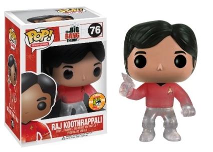 Raj Koothrappali Star Trek Transporting#76