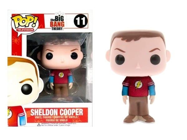 Sheldon Cooper Flash Shirt #11