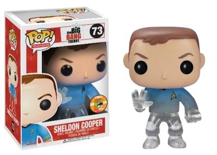 Sheldon Cooper Star Trek Transporting #73